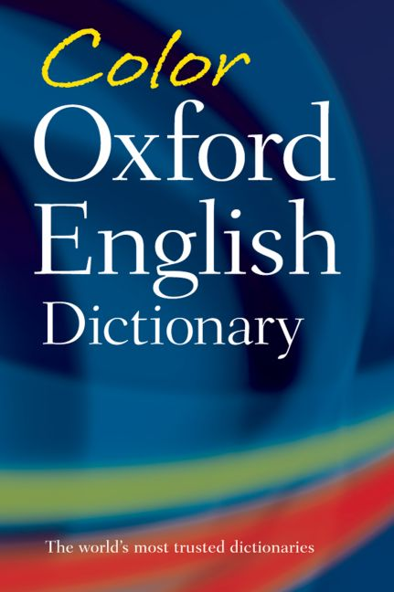 Color Oxford English Dictionary By Hawker, Sara (EDT)